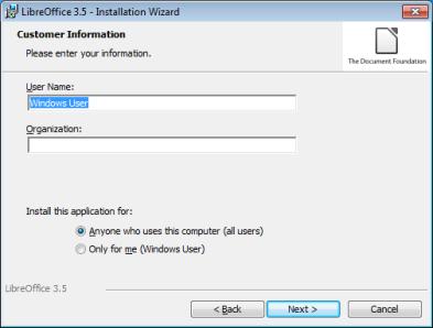 Windows | LibreOffice - Deutschsprachiges Projekt - Freie